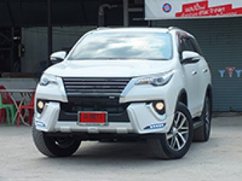 ชุดแต่ง NEW FORTUNER 2015 - 2016 (รุ่น LX MODE) แท้ 100% สเกิร์ตของแต่งรถนำเข้าจากญี่ปุ่น