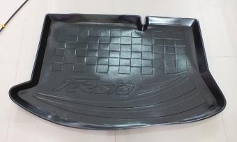ถาดท้าย Ford Fiesta 4DR + 5DR (ประตู) เข้ารูป รองท้ายใส่สัมภาระ หนา ทนทาน