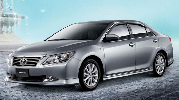 ชุดแต่ง สเกิร์ต TOYOTA CAMRY 2012 2013 ทรง MODULO สเกิร์ต สไตน์สปอร์ตหรู โดดเด่นสะกดทุกสายตา