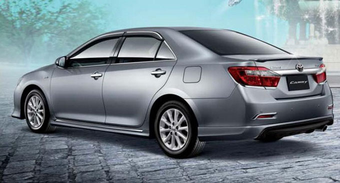 ชุดแต่ง สเกิร์ต toyota camry modulo 2012 2013 2014 โตโยต้า คัมรี่ สไตน์สปอร์ตหรู โดดเด่นสะกดทุกสายตา รูป 1