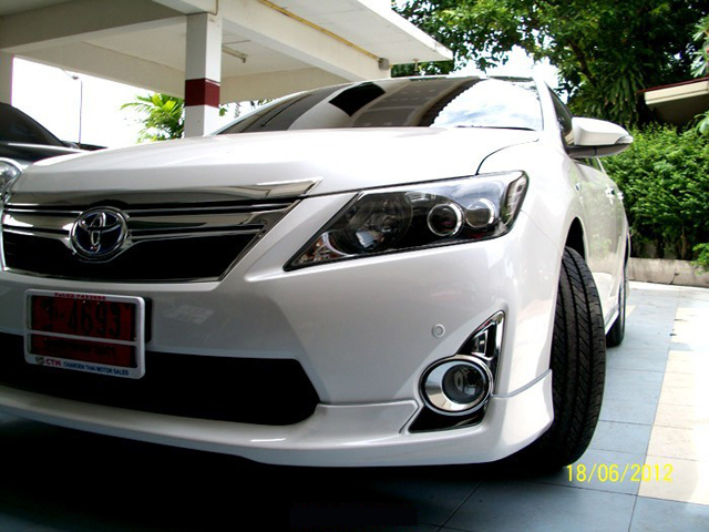 ชุดแต่ง สเกิร์ต toyota camry modulo 2012 2013 2014 โตโยต้า คัมรี่ สไตน์สปอร์ตหรู โดดเด่นสะกดทุกสายตา รูป 2