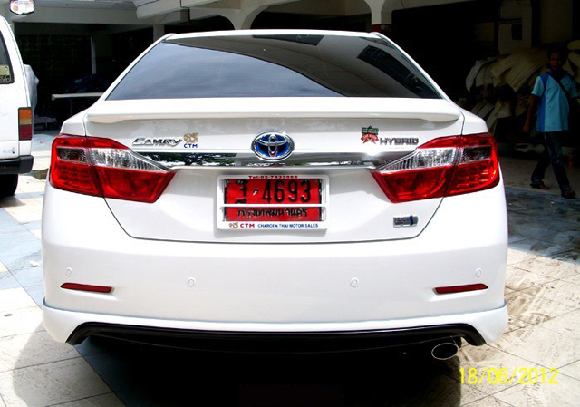 ชุดแต่ง สเกิร์ต toyota camry modulo 2012 2013 2014 โตโยต้า คัมรี่ สไตน์สปอร์ตหรู โดดเด่นสะกดทุกสายตา รูป 5