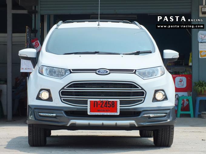 ชุดแต่ง สเกิร์ต แต่งรถ ford ecosport 2013 2014 2015 2016 showvy รังสิต ลำลูกกา ปทุมธานี กรุงเทพ กันยารัตน์ สีขาว รูป 1