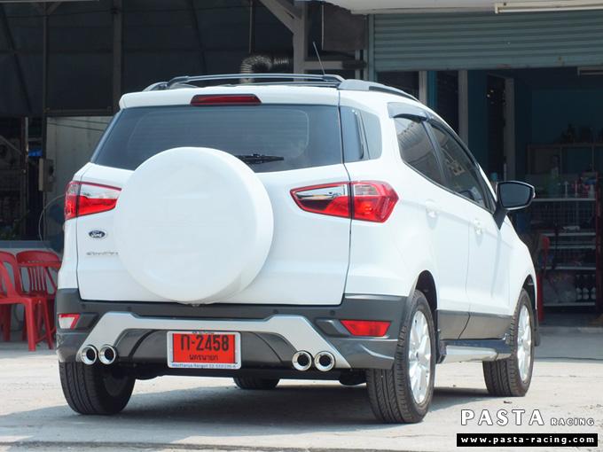 ชุดแต่ง สเกิร์ต แต่งรถ ford ecosport 2013 2014 2015 2016 showvy รังสิต ลำลูกกา ปทุมธานี กรุงเทพ กันยารัตน์ สีขาว รูป 3