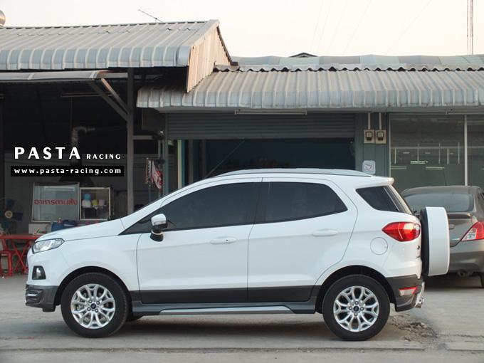 ชุดแต่ง สเกิร์ต แต่งรถ ford ecosport 2013 2014 2015 2016 showvy รังสิต ลำลูกกา ปทุมธานี กรุงเทพ อ้วน สีขาว รูป 3