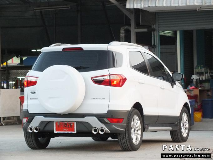 ชุดแต่ง สเกิร์ต แต่งรถ ford ecosport 2013 2014 2015 2016 showvy รังสิต ลำลูกกา ปทุมธานี กรุงเทพ อ้วน สีขาว รูป 4