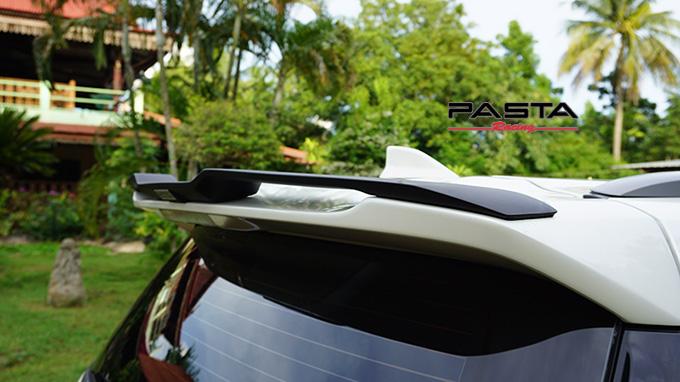 ชุดแต่ง สเกิร์ต สปอยเลอร์ อุปกรณ์ของแต่งรถ new fortuner mc ฟอร์จูนเนอร์ vazooma luxury 2020 2021 2022 สีขาวมุก บริการนอกสถานที่ ติดถึงบ้าน สระแก้ว คุณประโยชน์ 7