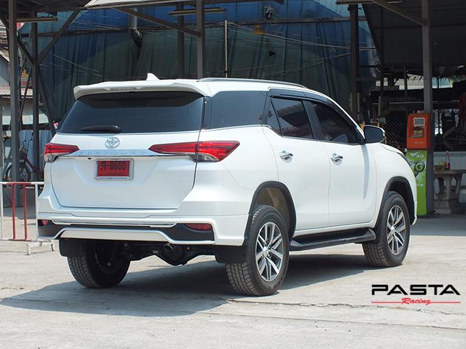 ชุดแต่ง สเกิร์ต อุปกรณ์ของแต่งรถ new fortuner 2015 2016 2017 2018 fiar design fd2-lt รังสิต ลำลูกกา ปทุมธานี กรุงเทพ สีขาวมุก มนทกานติ รูป 5