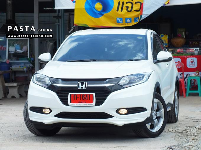 ชุดแต่ง สเกิร์ต แต่งรถ hrv 2015 2016 2017 2018 modulo mdl รังสิต ลำลูกกา ปทุมธานี กรุงเทพ ขจร สีขาว รูป 2