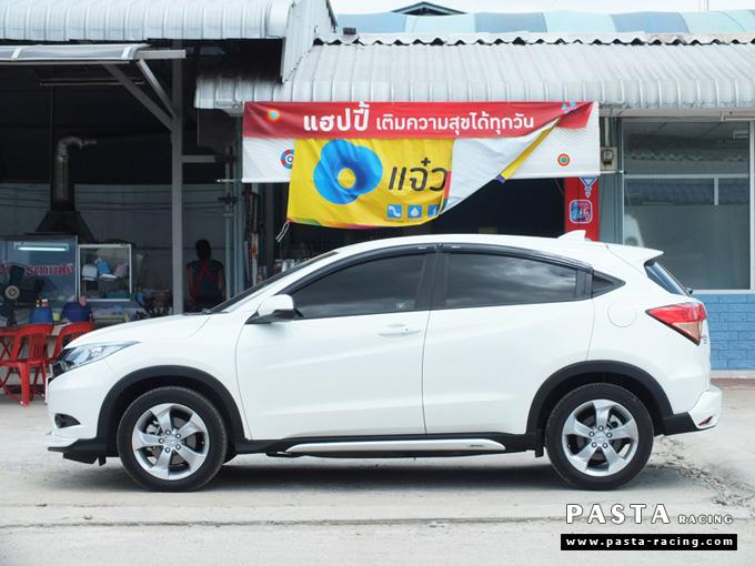 ชุดแต่ง สเกิร์ต แต่งรถ hrv 2015 2016 2017 2018 modulo mdl รังสิต ลำลูกกา ปทุมธานี กรุงเทพ ขจร สีขาว รูป 4