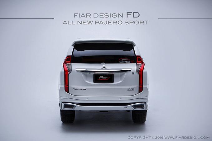 ชุดแต่ง สเกิร์ต ของแต่งรถ อุปกรณ์ แต่งรถ new pajero 2016 2017 2018 2019 fd fiar design รังสิต ลำลูกกา ปทุมธานี กรุงเทพ สีขาวมุก โปรชัวร์ รูป 5