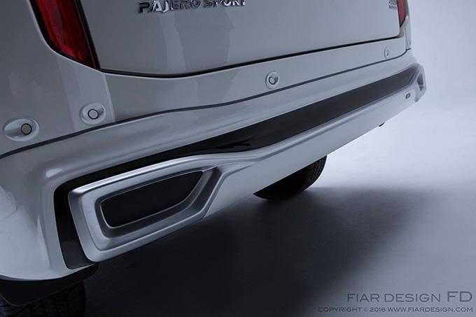ชุดแต่ง สเกิร์ต ของแต่งรถ อุปกรณ์ แต่งรถ new pajero 2016 2017 2018 2019 fd fiar design รังสิต ลำลูกกา ปทุมธานี กรุงเทพ สีขาวมุก โปรชัวร์ รูป 6