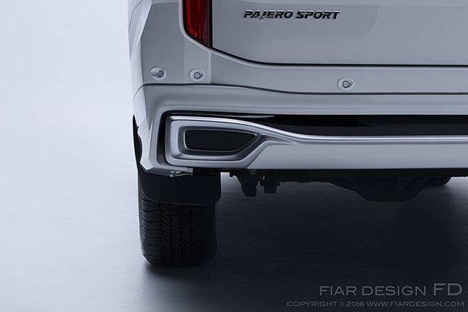 ชุดแต่ง สเกิร์ต ของแต่งรถ อุปกรณ์ แต่งรถ new pajero 2016 2017 2018 2019 fd fiar design รังสิต ลำลูกกา ปทุมธานี กรุงเทพ สีขาวมุก โปรชัวร์ รูป 7