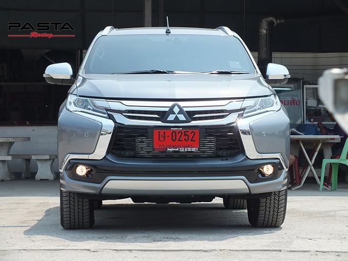 ชุดแต่ง สเกิร์ต ของแต่งรถ อุปกรณ์ แต่งรถ new pajero 2016 2017 2018 2019 fd fiar design รังสิต ลำลูกกา ปทุมธานี กรุงเทพ สีเทาไทเทเนียม เมธารี รูป 1