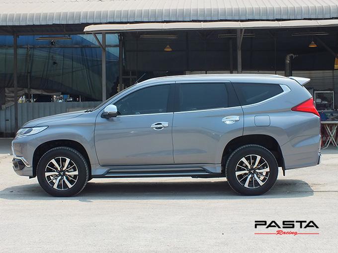 ชุดแต่ง สเกิร์ต ของแต่งรถ อุปกรณ์ แต่งรถ new pajero 2016 2017 2018 2019 fd fiar design รังสิต ลำลูกกา ปทุมธานี กรุงเทพ สีเทาไทเทเนียม เมธารี รูป 4