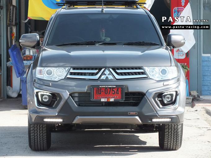 ชุดแต่ง สเกิร์ต แต่งรถ ปาเจโร่ pajero sport 2014 2015 2016 jap r2 รังสิต ลำลูกกา ปทุมธานี กรุงเทพ คุณโอ๊ต สีน้ำตาล รูป 1