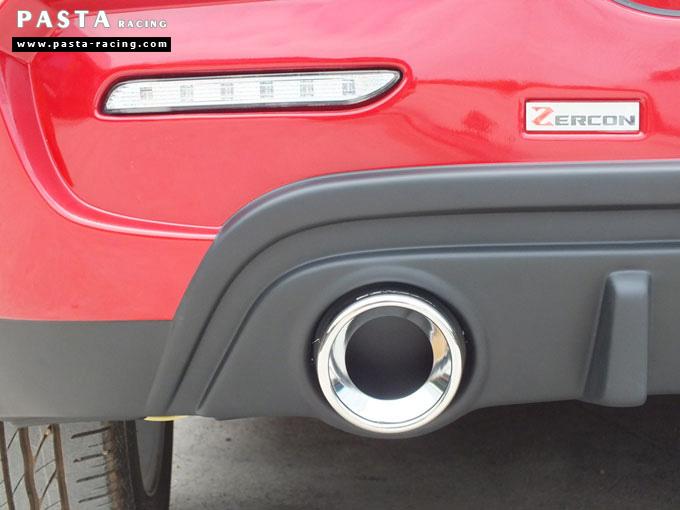 ชุดแต่ง suzuki swift eco ซูซูกิ สวิฟท์ 2012 2013 2014 2015 zercon z-i ซีวัน สเกิร์ต รอบคัน สีแดง คุณเจ๋ง รูป 11