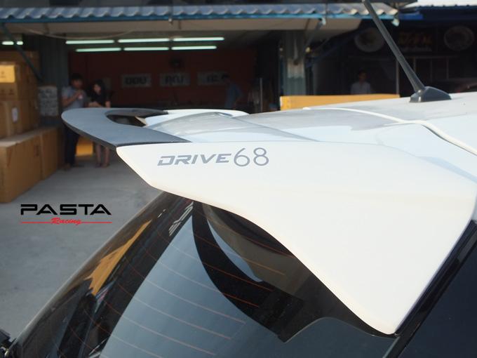 ชุดแต่ง สเกิร์ต อุปกรณ์แต่งรถ ของแต่งรถ yaris eco 2015 2016 Drive 68 แต่งรถ ลำลูกกา รังสิต ปทุมธานี กรุงเทพ สีขาว คุณสกุลทิพย์ รูป 4