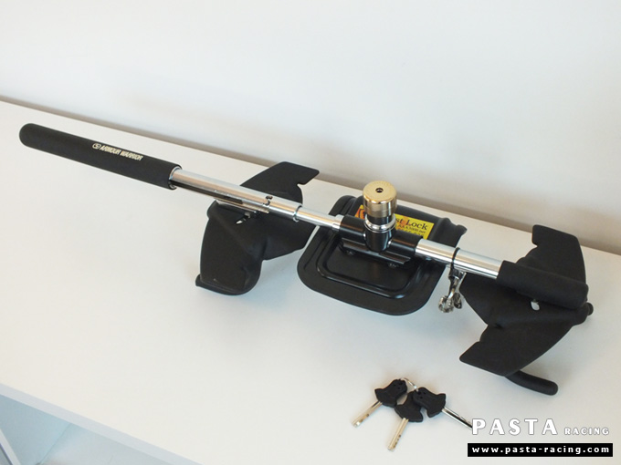 กันขโมย กันขโมยรถยนต์ กุญแจล็อคพวงมาลัย อุปกรณ์ รถ best lock ราคาถูก รูป 4